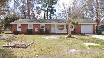 Summerville SC Single Family Home For Sale: $150,000