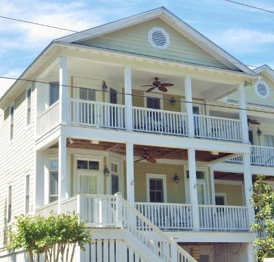 Edisto Beach Single Family Home Contingent: 807 Jungle Road #B