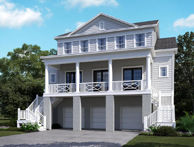Mount Pleasant Single Family Home Contingent: 3656 Redfish Circle