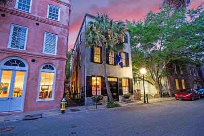 Charleston Single Family Home For Sale: 8 Queen Street