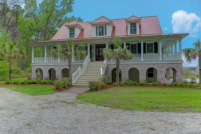 Johns Island Single Family Home For Sale: 1021 Hughes Road