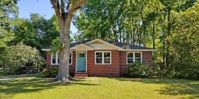 Charleston Single Family Home Contingent: 1430 Bur Clare Drive