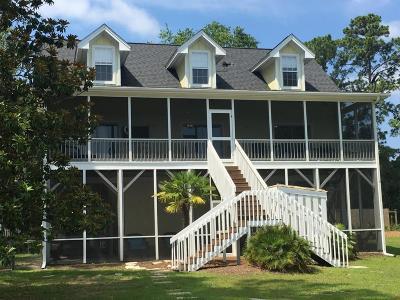 Edisto Island Single Family Home For Sale: 8934 Sandy Creek Road