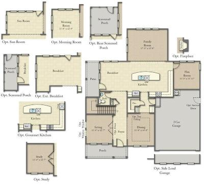 Moncks Corner Single Family Home Contingent: 448 Stonefield Circle