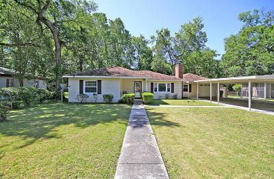 Charleston Single Family Home For Sale: 1331 S Sherwood Drive