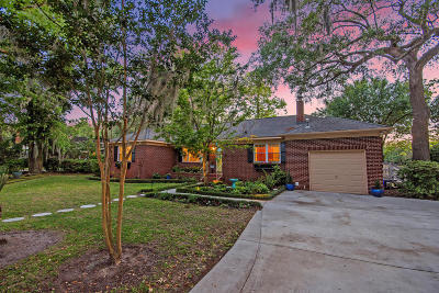 Charleston Single Family Home Contingent: 787 Woodward Road