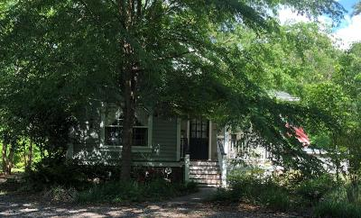 Ravenel Single Family Home Contingent: 5546 Salters Hill Road