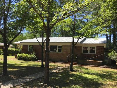 Walterboro Single Family Home For Sale: 118 Pinewood Street