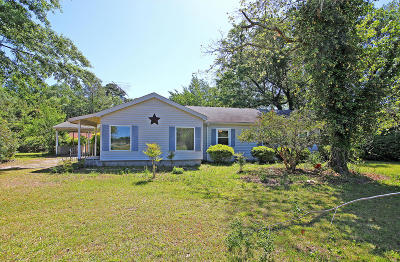 Walterboro Single Family Home For Sale: 5946 Jefferies Highway