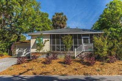 Folly Beach Single Family Home For Sale: 504 E Cooper Avenue