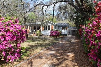 Charleston Single Family Home For Sale: 2112 Wappoo Hall Road