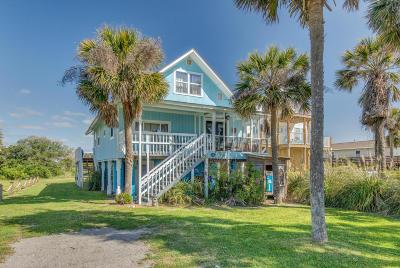 Folly Beach Single Family Home For Sale: 1730 E Ashley Avenue
