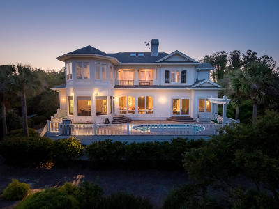 Seabrook Island Single Family Home For Sale: 2216 Rolling Dune Road