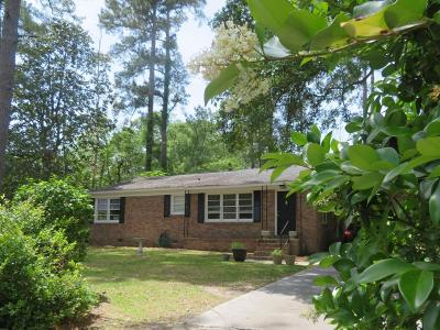 Walterboro Single Family Home Contingent: 202 Churchill Road