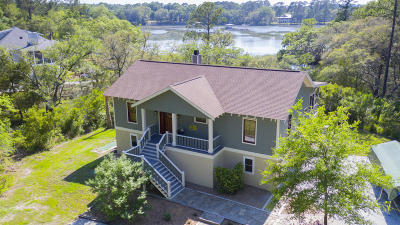 Wadmalaw Island Single Family Home For Sale: 1781 Tacky Point Road