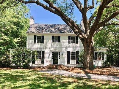 Charleston Single Family Home For Sale: 4 Guerard Road