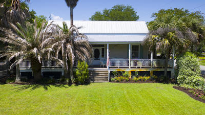 Sullivans Island Single Family Home For Sale: 1857 Ion Avenue