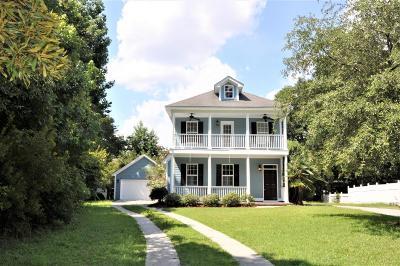 Johns Island Single Family Home For Sale: 1750 Hickory Knoll Way
