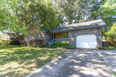 Mount Pleasant Single Family Home Contingent: 1766 Nantahala Boulevard