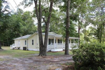 Walterboro Single Family Home Contingent: 161 Quail Drive