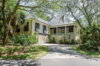 Kiawah Island Single Family Home For Sale: 411 Ocean Oaks Court