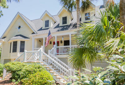 Isle Of Palms Single Family Home For Sale: 1 Cross Lane
