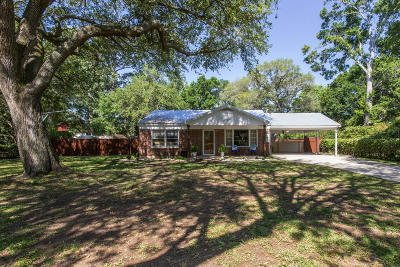 Charleston Single Family Home For Sale: 1023 Bradford Avenue