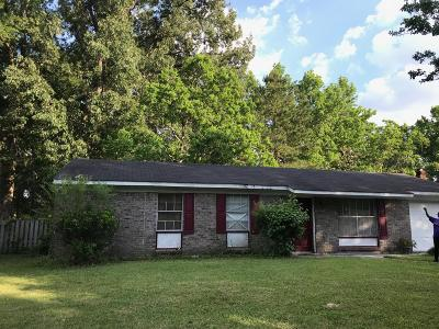 Charleston Single Family Home For Sale: 1821 Otis Avenue