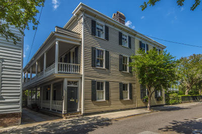Single Family Home For Sale: 114 Tradd Street