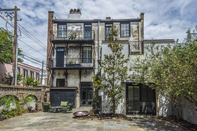 Charleston Single Family Home For Sale: 45 Hasell Street