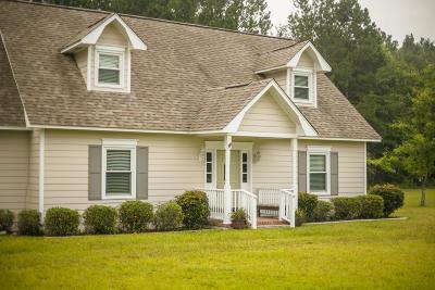 Walterboro Single Family Home For Sale: 144 Fox Field Road
