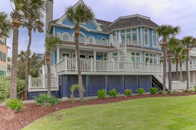 Isle Of Palms Single Family Home For Sale: 18 E Beachwood