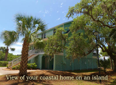 Edisto Island Single Family Home For Sale: 8195 Wahoo Court