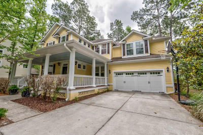 Mount Pleasant Single Family Home For Sale: 1891 Hall Point Road