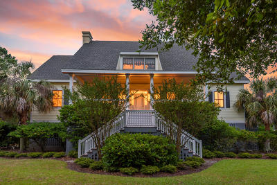 Seabrook Island Single Family Home For Sale: 2624 Jenkins Point Road