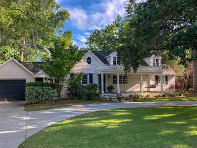Single Family Home For Sale: 2181 Wappoo Drive