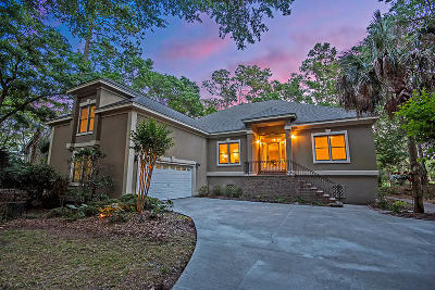 Johns Island Single Family Home For Sale: 3074 Baywood Drive