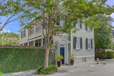 Charleston Single Family Home For Sale: 4 Atlantic Street