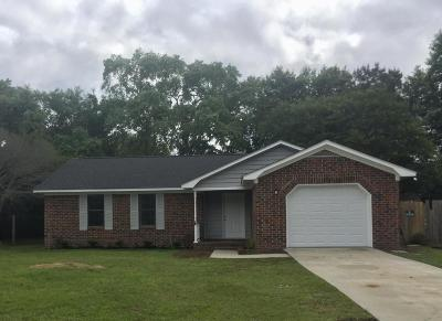 Summerville Single Family Home Contingent: 107 Wicker Court