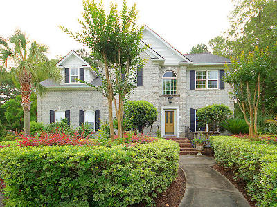 Brickyard Plantation Single Family Home For Sale: 1351 Old Brickyard Road