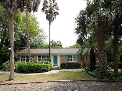 Isle Of Palms Single Family Home Contingent: 28 28th Avenue