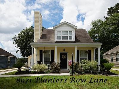 Summerville Single Family Home For Sale: 8971 Planters Row Lane