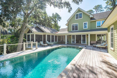 Kiawah Island Single Family Home Contingent: 137 Flyway Drive