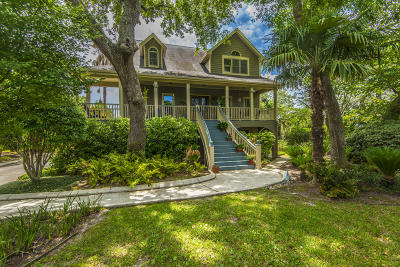 Charleston Single Family Home For Sale: 201 Marsh Oaks Drive