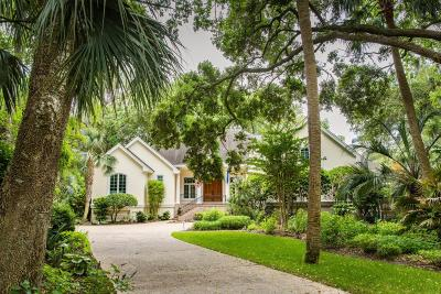 Johns Island Single Family Home For Sale: 2829 Capn Sams Road
