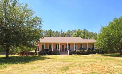 Single Family Home For Sale: 7018 Toogoodoo Road