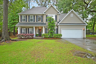 North Charleston Single Family Home For Sale: 8692 Hickory Creek Lane