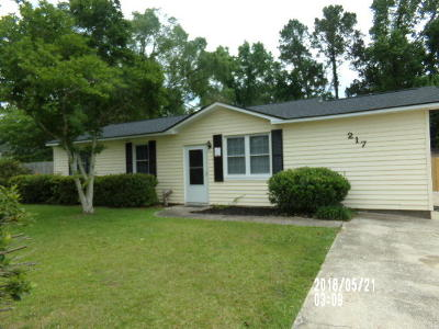 Goose Creek Single Family Home Contingent: 217 Holly Avenue