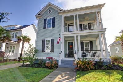 Mount Pleasant Single Family Home For Sale: 1490 Crane Creek Drive