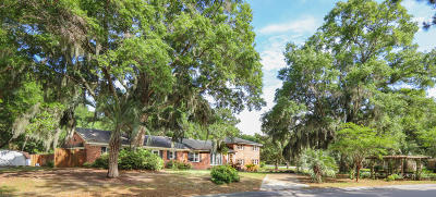 Charleston Single Family Home For Sale: 828 Robert E Lee Boulevard